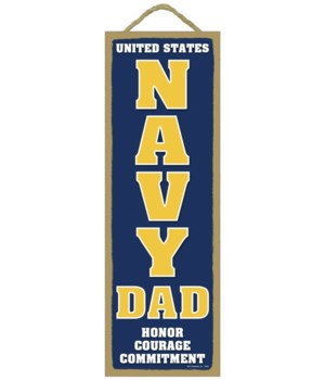 USA NAVY DAD Honor 5x15