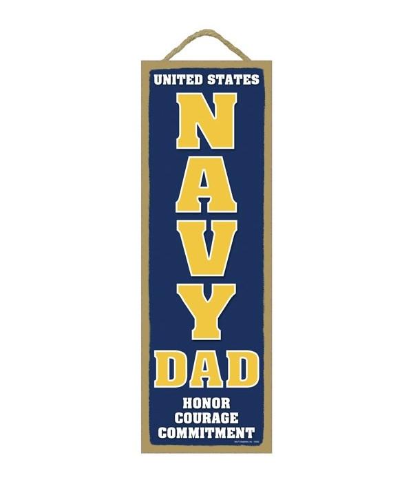 USA NAVY DAD Honor 5x15