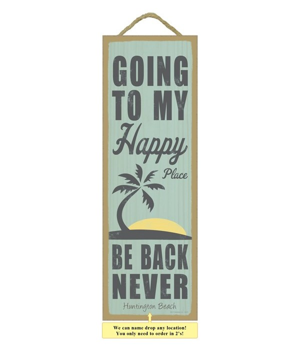 Going to my happy place.  Be back never