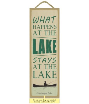 What happens at the lake, stays at the l