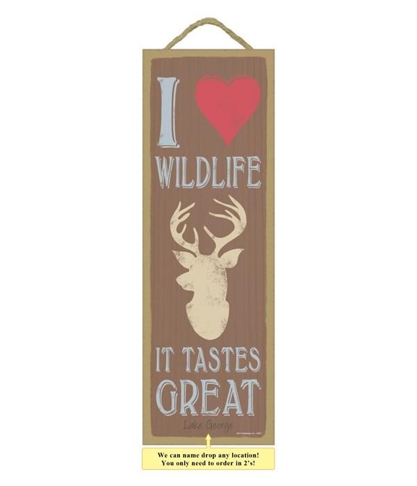 I (heart image) wildlife.  It tastes gre