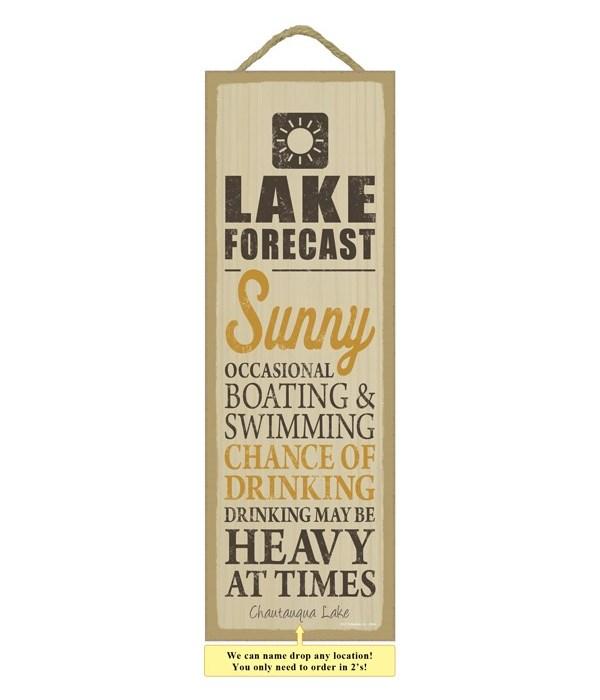 Lake forecast (sun image)