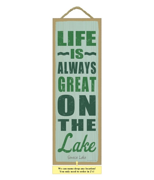 Life is always great on the lake