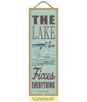 The lake fixes everything (lake & seagul