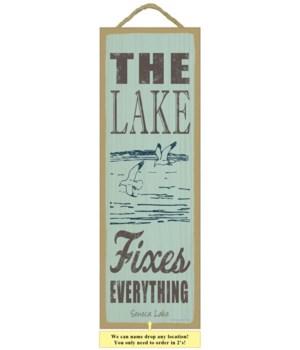The lake fixes everything (lake & seagul