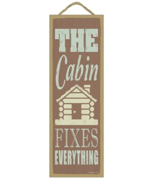 The cabin fixes everything (cabin image)
