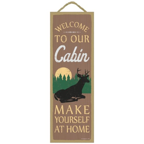 Welcome to our cabin  Make yourself at h - 5x15 - Creemers