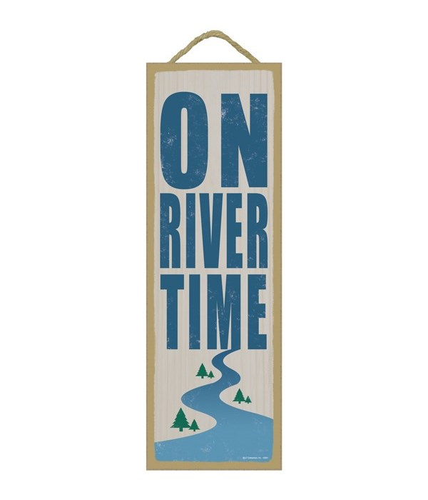 On river time (river image)