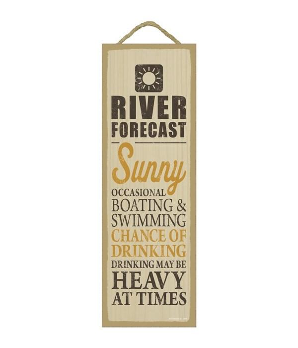 River forecast (sun image)