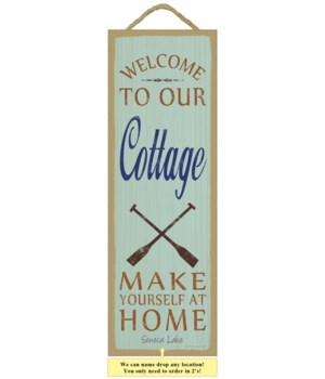Welcome to our cottage.  Make yourself a