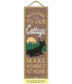 Welcome to our cottage. Make yourself at