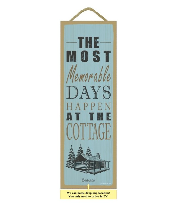 The most memorable days happen at the co