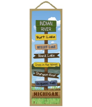 Indian River Destination Sign