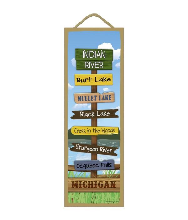 Indian River Destination Sign