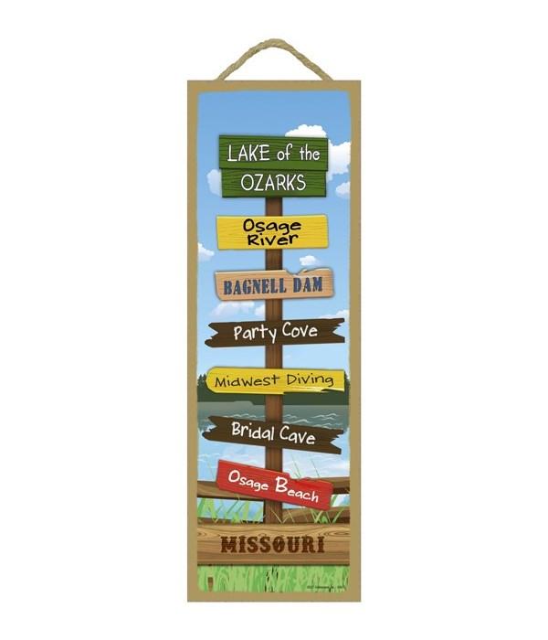 Lake Theme Destination Sign