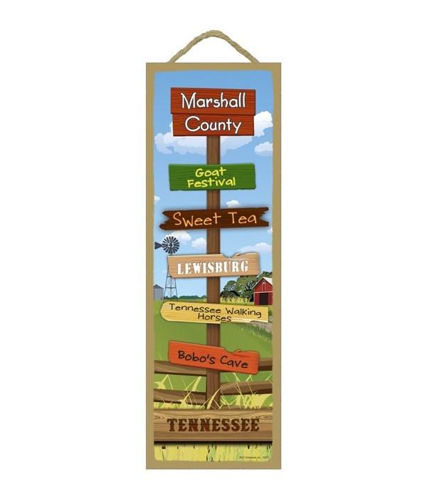 Farm/Country Scene Destination Sign