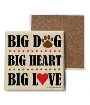 Big Dog, Big Heart, Big Love (Pawprints)