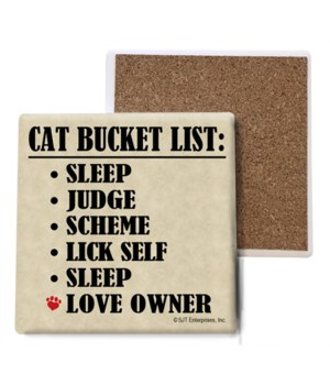 Cat Bucket List: Sleep, Judge, Scheme, L
