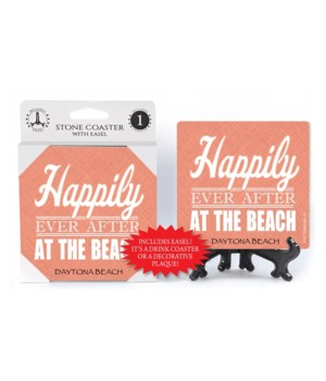 Happily ever after at the beach  coaster