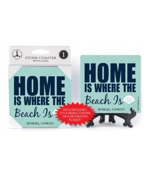 Home is where the beach is - white shell