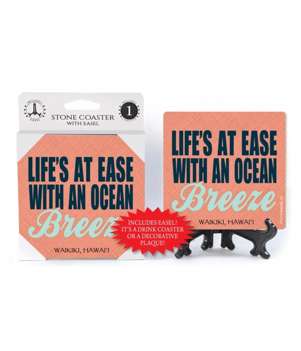 Life's at ease with an ocean Breeze  coa