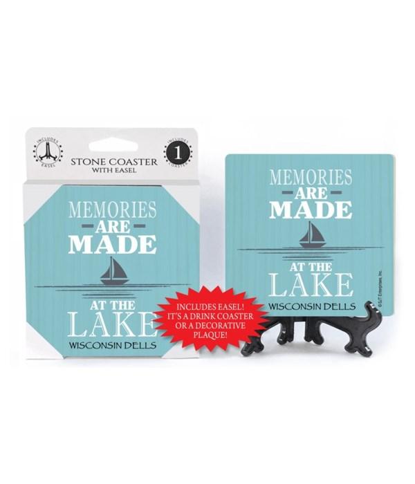 Memories are made at the lake (sailboat