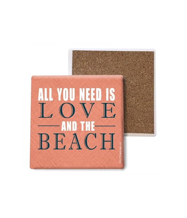 All you need is love and the Beach coast