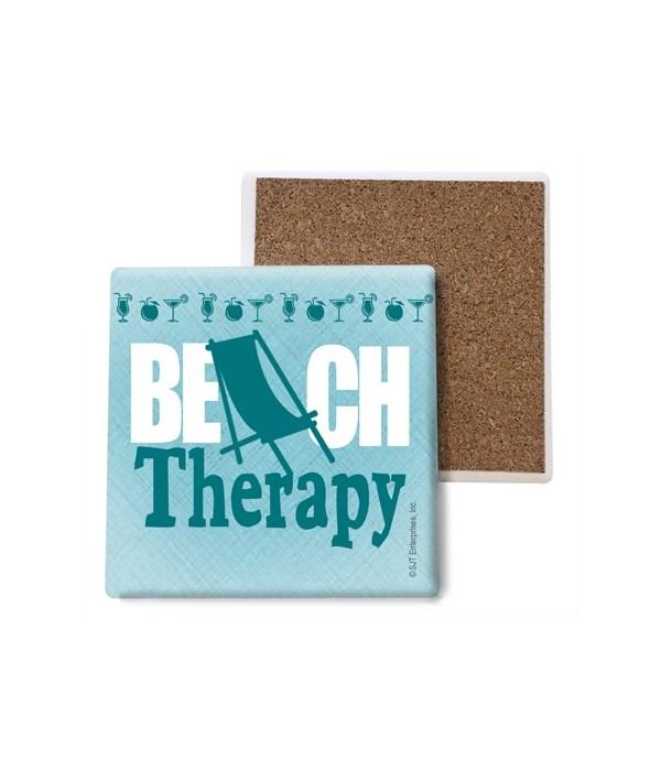 Beach Therapy - Beach chair as the lette