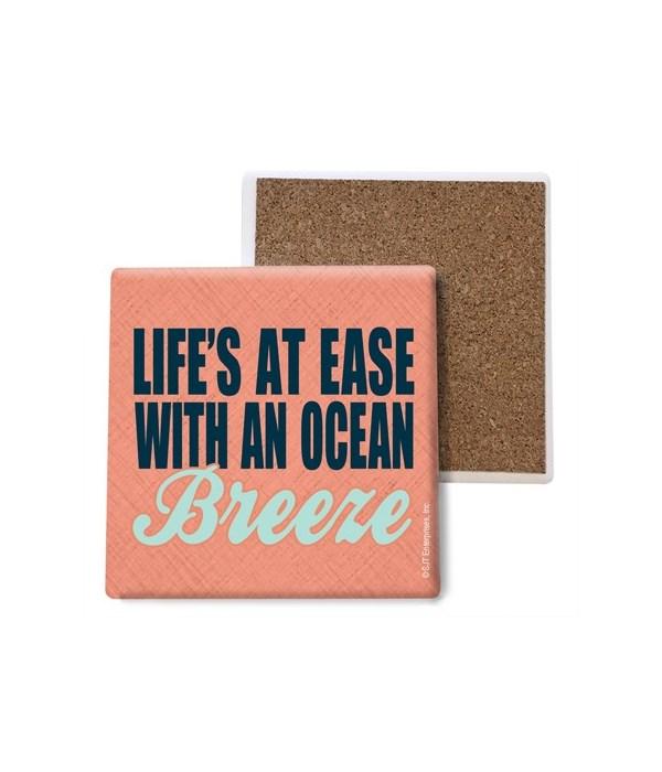 Life's at ease with an ocean Breeze coas