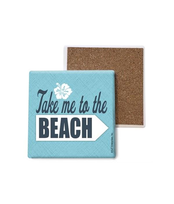 Take me to the beach coaster bulk
