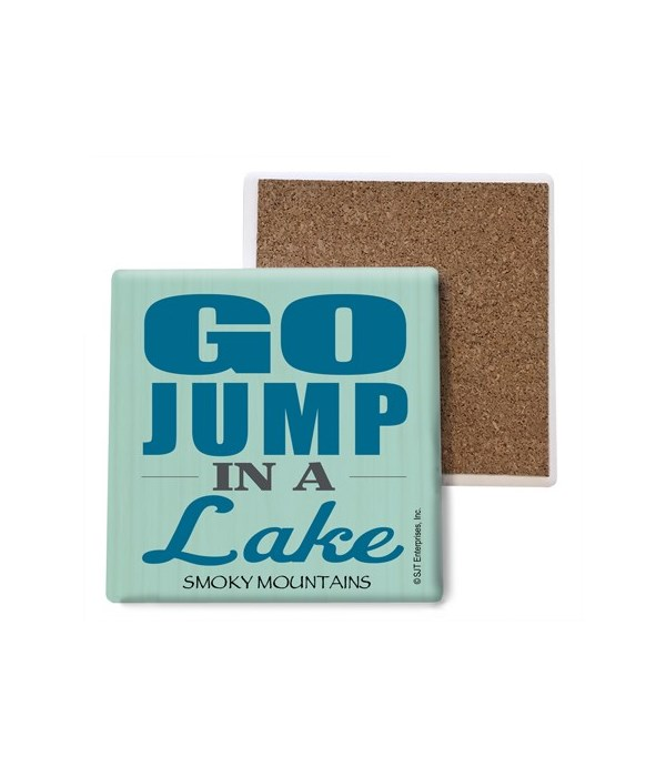 Go jump in a lake (people jumping in lak