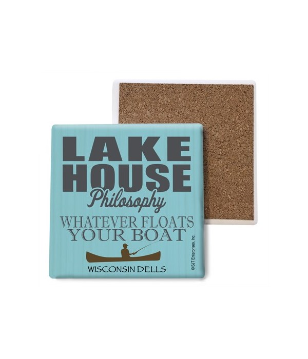 Lake house philosophy: Whatever floats y