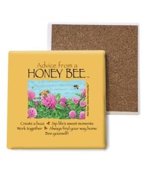 Advice from a Honey Bee coaster bulk
