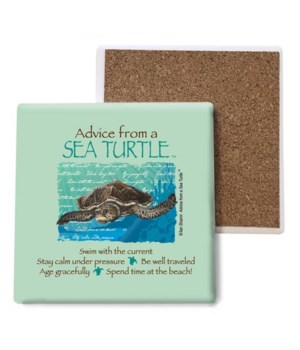 Advice from a Sea Turtle coaster bulk