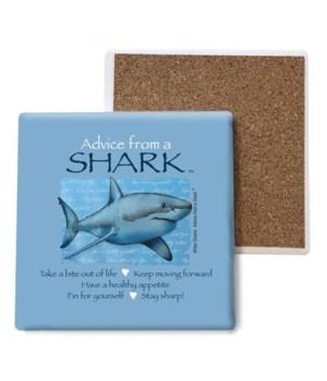 Advice from a Shark coaster bulk