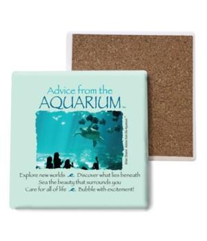 Advice from the Aquarium coaster bulk