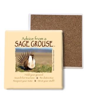 Advice from a Sage Grouse Bulk Coaster