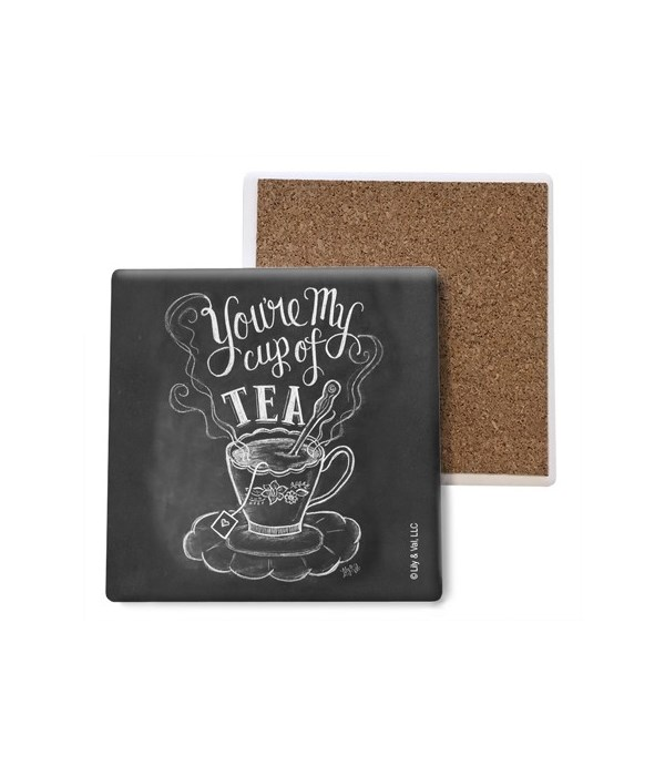 You're my cup of tea coaster bulk