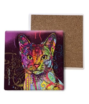 Cat - Abyssinian coaster bulk