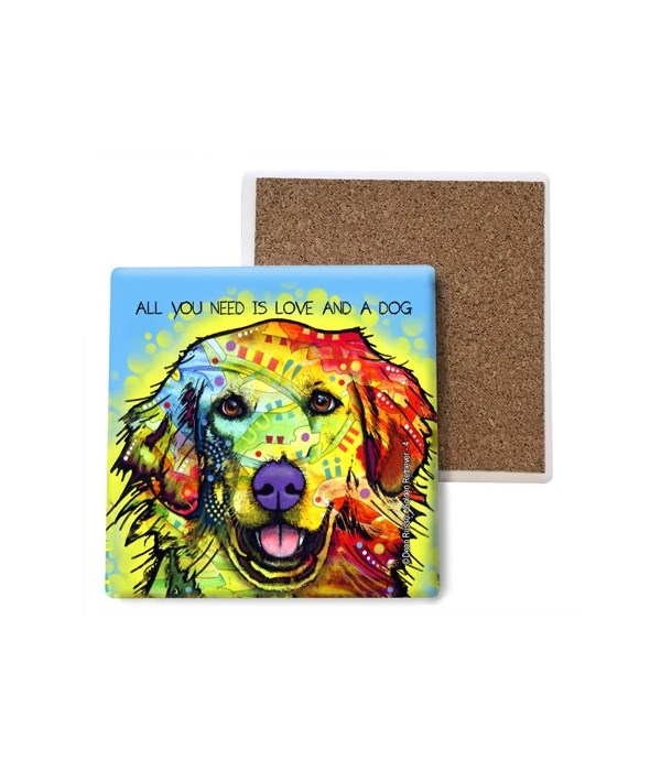 Golden Retriever - 4 - All you need is l