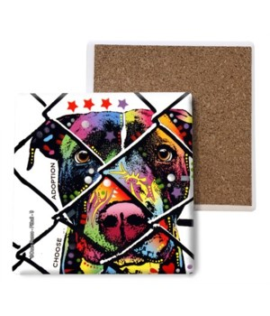 Pitbull - 9 - Choose Adoption coaster bu