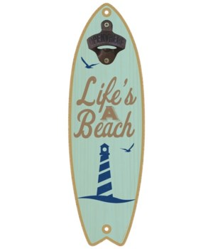 Life's a beach (lighthouse image) Surfbo