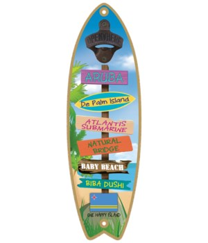 Aruba BO Surfboard