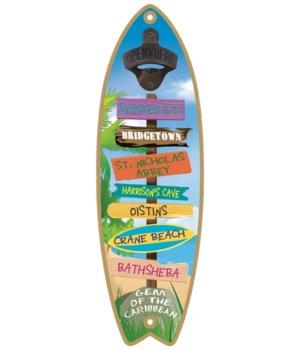 Barbados BO Surfboard