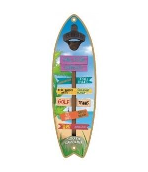 Tropical Destination BO Surfboard
