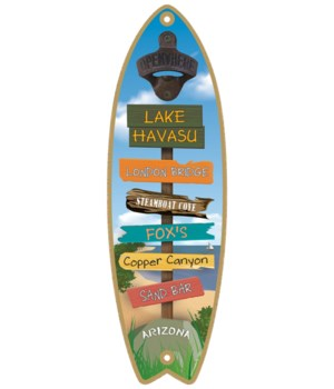 Lake Havasu, AZ BO Surfboard