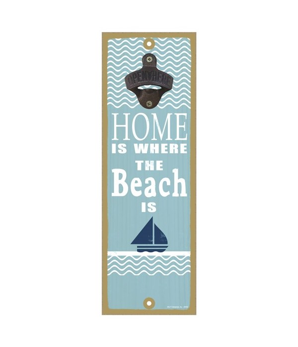 Home is where the beach is (boat & water
