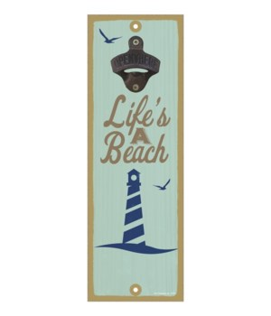 Life's a beach (lighthouse image)