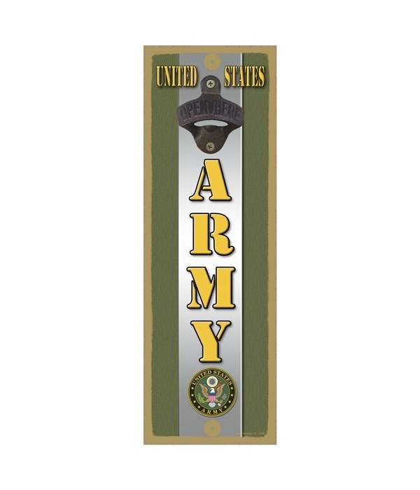 United States ARMY with logo and silver