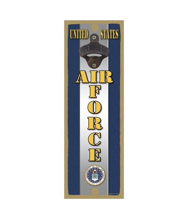 United States AIR FORCE with logo and si